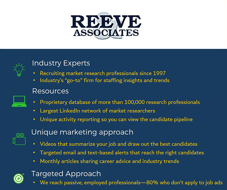 Advantages of Working with Reeve & Associates